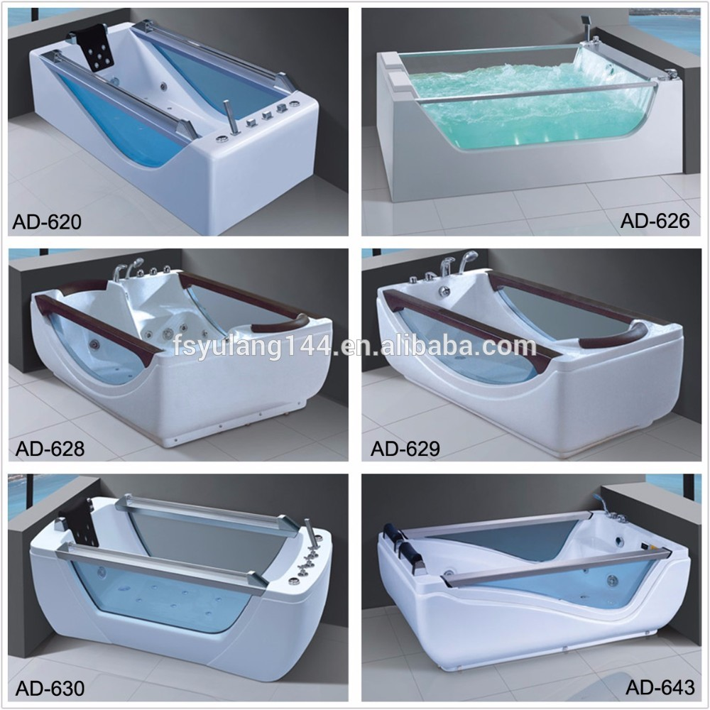 Massage Integral Bathtub with Apron