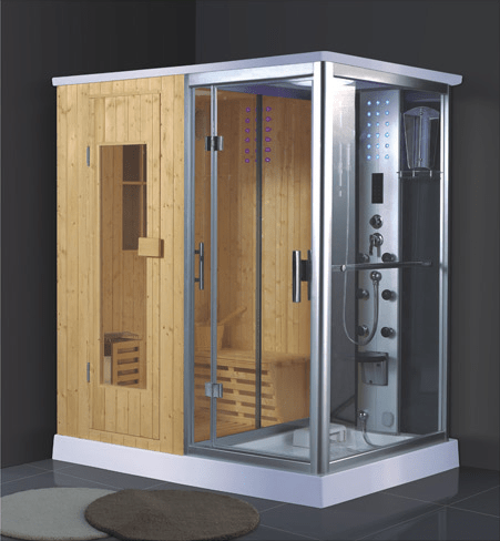 ANDI China suppliers wholesale portable indoor wet steam shower sauna combos AD-946 Steam or Sauna  Room image11