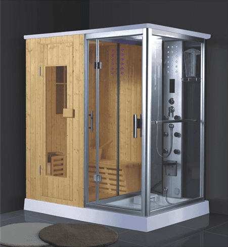 China suppliers wholesale portable indoor wet steam shower sauna combos AD-946