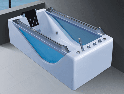 High Quality Chinese Factory Acrylic Adult Massage Bathtub with Surfing Pump AD-620