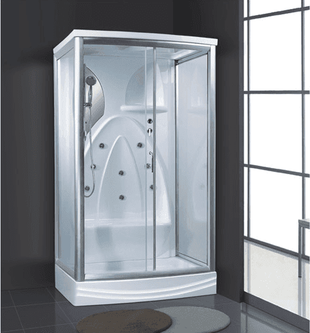 Small portable steam bath acrylic materail shower room indoor cheap price cabinet AD-939
