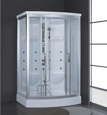 Wet steam room portable sauna and steam generator home use for two persons AD-938