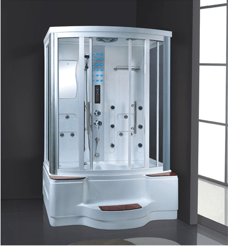 ANDI China suppliers wholesale 2 person acrylic home steam room kits with whirlpool bathtub AD-936 Steam or Sauna  Room image22