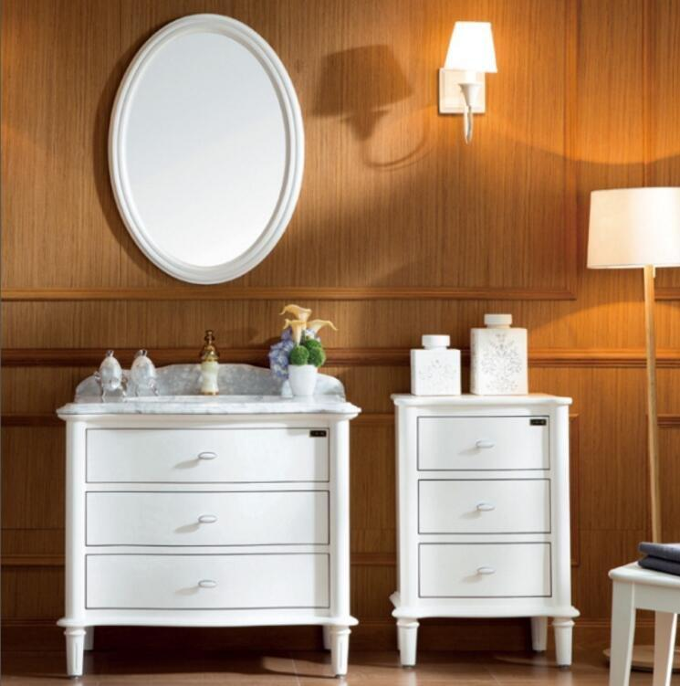 American Top  Style  Thailand Oak Cabinet Bathroom storage cabinet with free design