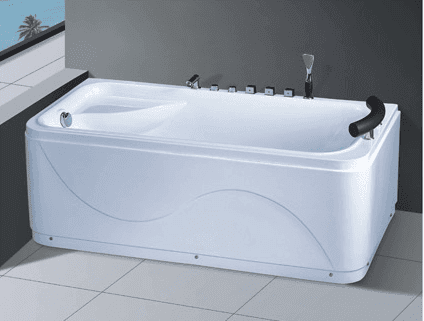 Hot Tub Hotel Massage Acrylic Bathtub AD-663