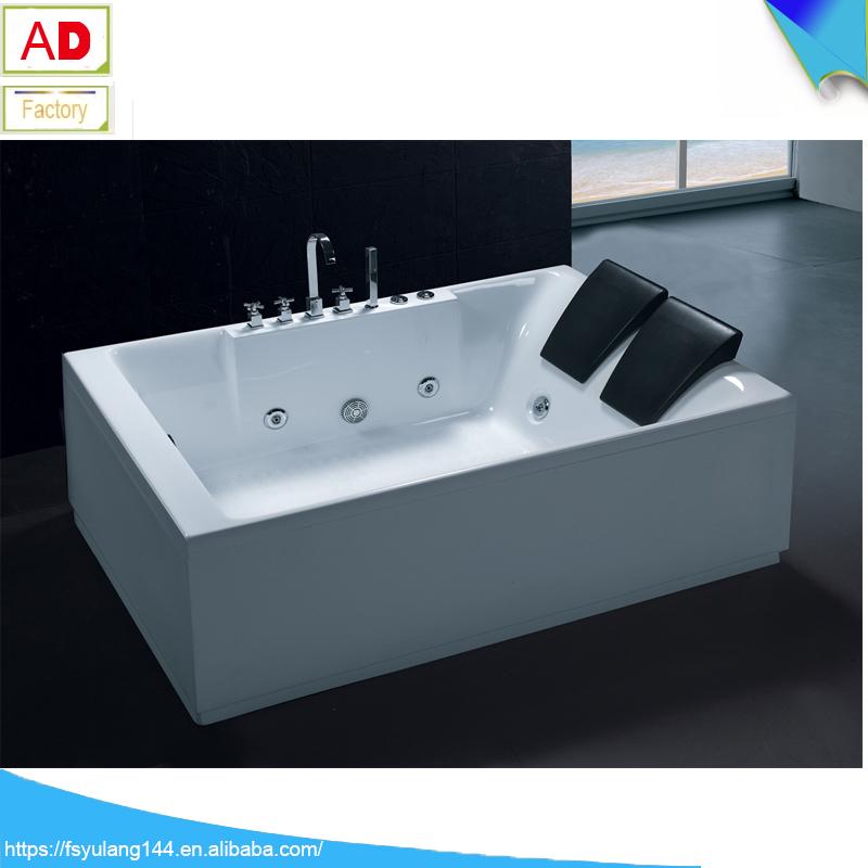 Cheap freestanding bathtub malaysia fico apollp massage bathtub gold acrylic bath AD-6632-7