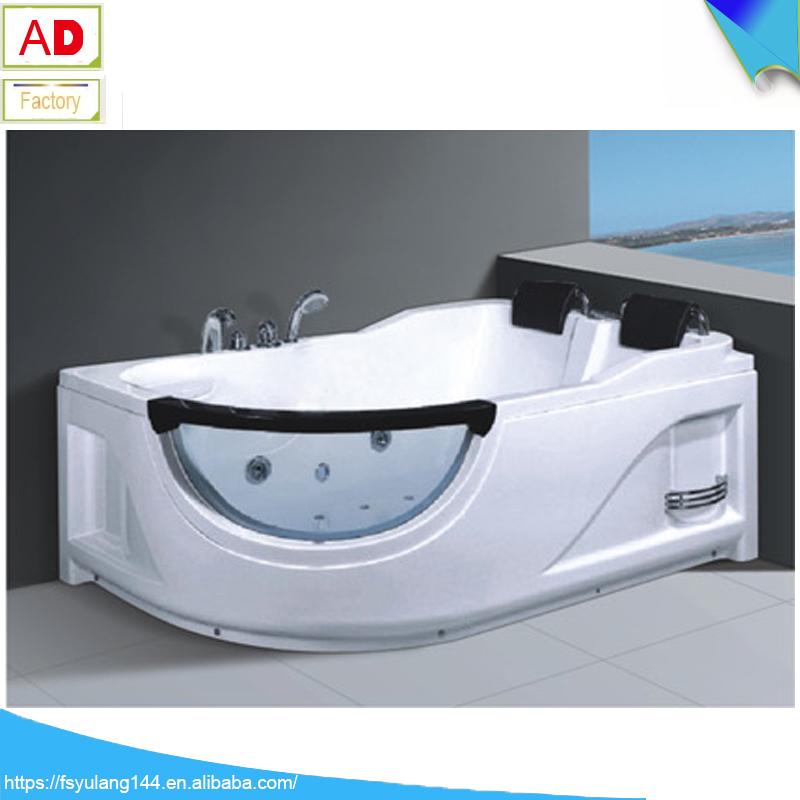 Cheap freestanding bathtub malaysia fico apollp massage bathtub gold acrylic bath AD-6632-9