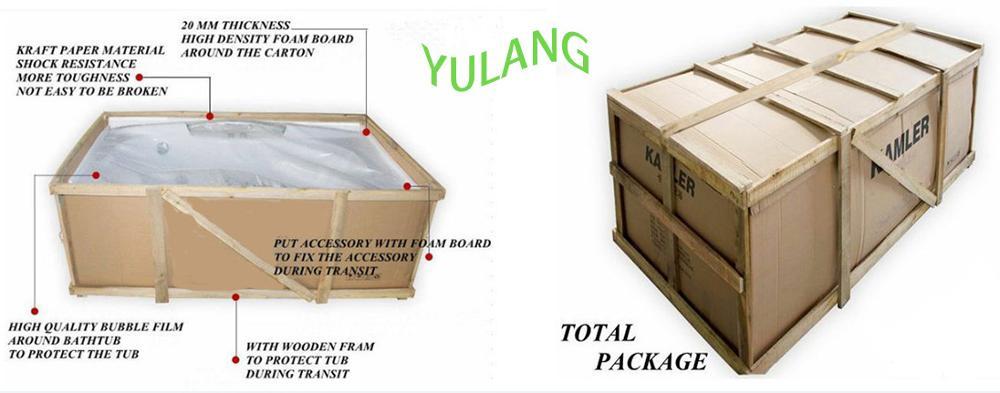 Cheap freestanding bathtub malaysia fico apollp massage bathtub gold acrylic bath AD-6632-12