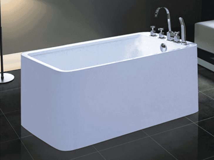 Cheap soaking tubs small freestanding square bathtub european soaking ofuro AD-6611