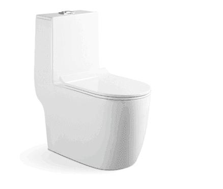 Diret wholesale small size for children ceramic wc toilet blow back toilet AD-8011