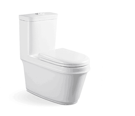 Modern One Piece Toilet, Sanitary Wares Colored Toilet Bowl one piece wc toilet AD-8011