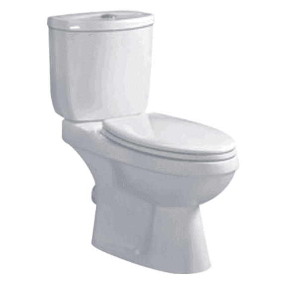 Popular Save Water Economic Bathroom Furniture washdown two piece toilet/economic toilet/WC/toilet F-202