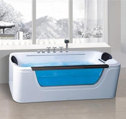 2018 new model glass bathtub freestanding with cheap price AD-8801
