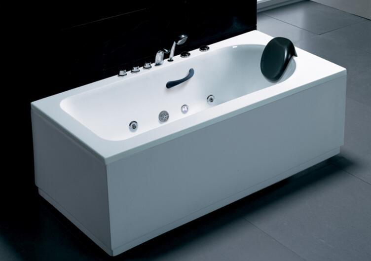 Bathroom very small hot tub bathtub 1.3 meter spa massage bathtub AD-8201