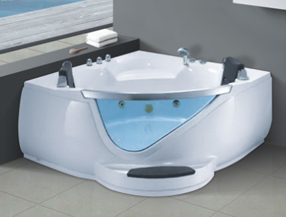 High Quality Triangle Corner Bathtub Lowes Walk in Bathtub with Shower AD-612