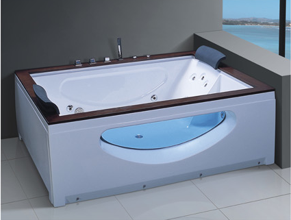 Top Sales Indoor Hot Tub Luxurious Massage Bathtub Functional Indoor Whirlpool Spa with TV AD-605