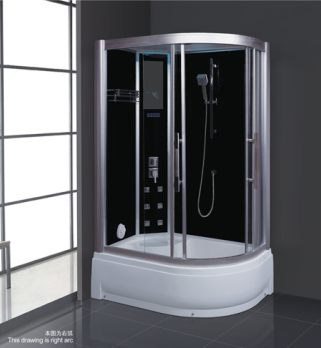 China foshan supplier outdoor steam shower room 110V steamer with DVD tubs massage room AD-921