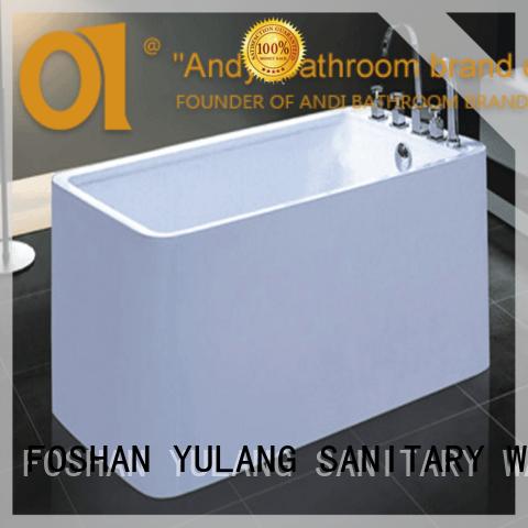 Cheap soaking tubs small freestanding square bathtub european soaking ofuro AD-6611