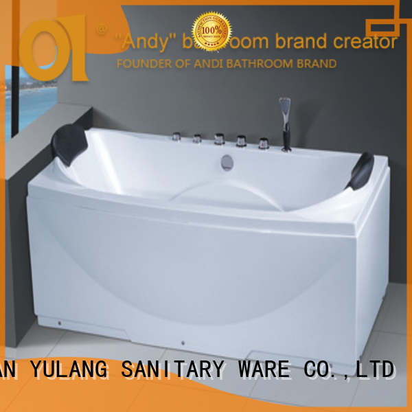 Made in China foshan jets water massage bathtub surf price indoor spa for 1 person hot tub AD-678
