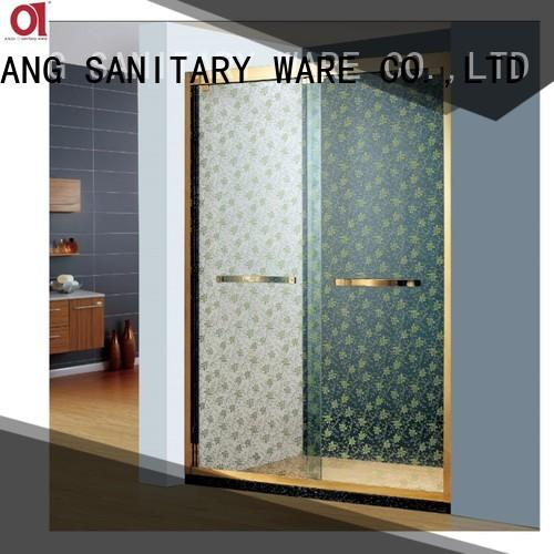 glass over bath shower screen stainless for home ANDI