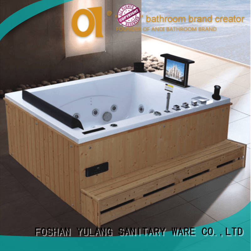 ANDI exquisite stand alone whirlpool tubs online for bathroom