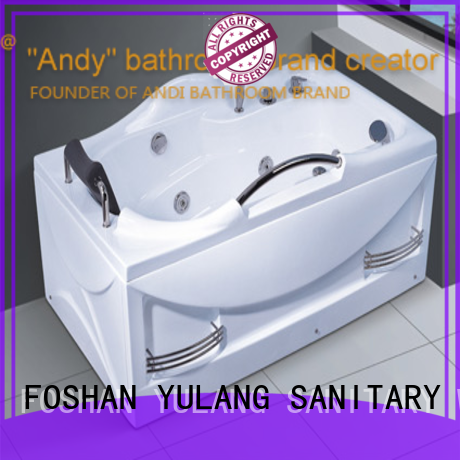ANDI sell hot tub massage promotion for children