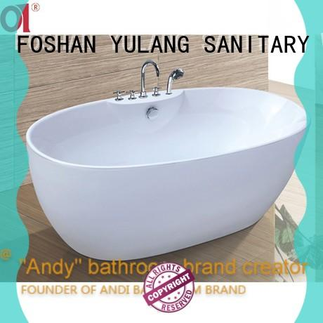 hot sell pedestal tub shower wholesale for apartment