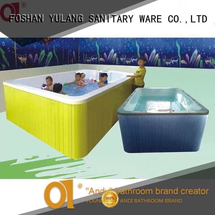 ANDI price kids bath tub factory price for hotel