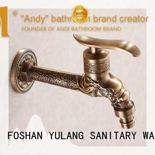 ANDI brass bronze bathroom faucet factory price for bathroom