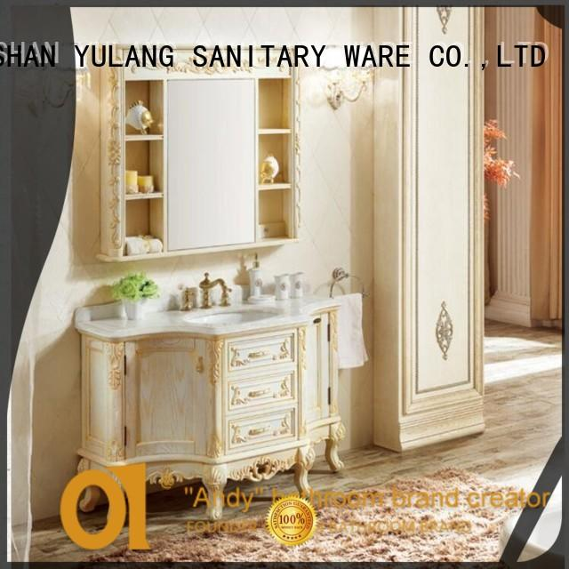 ANDI chinese inexpensive bathroom vanity wholesale for rest room