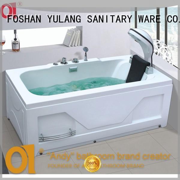 ANDI unique acrylic soaking tub design for bathroom