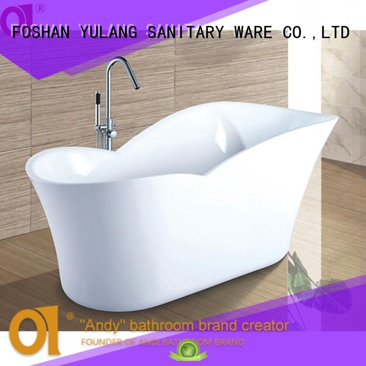 ANDI standing freestanding tub wholesale for villa