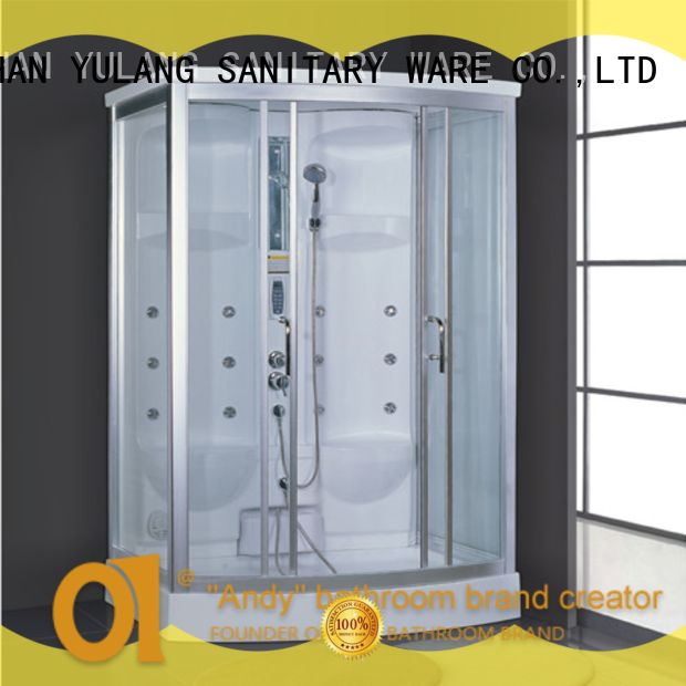 ANDI security sauna and steam room factory price for Villa