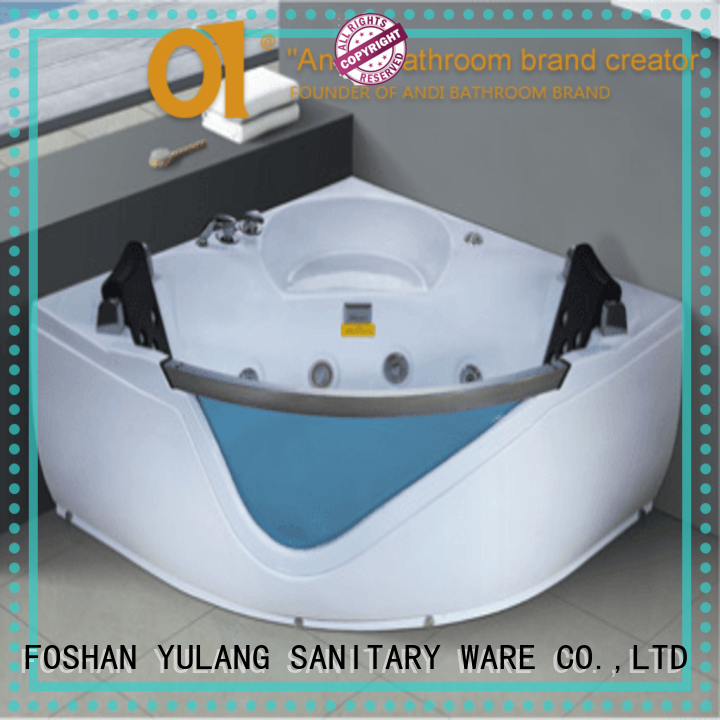ANDI modern bathtub spa massager directly sale for business project