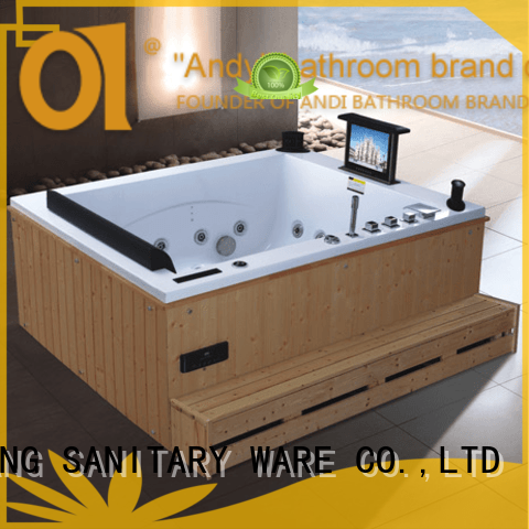 ANDI best freestanding air tub directly sale for apartment