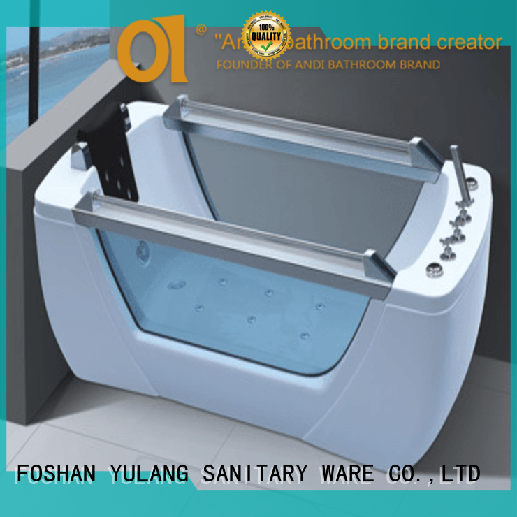 professional acrylic tub shower units directly sale for apartment