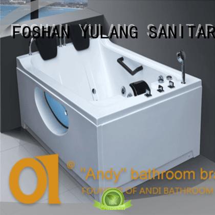 ANDI commercial hydromassage bathtub promotion for children