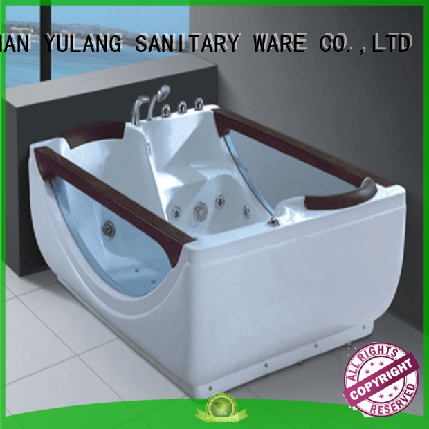 hotel leading large massage bathtub design ANDI Brand