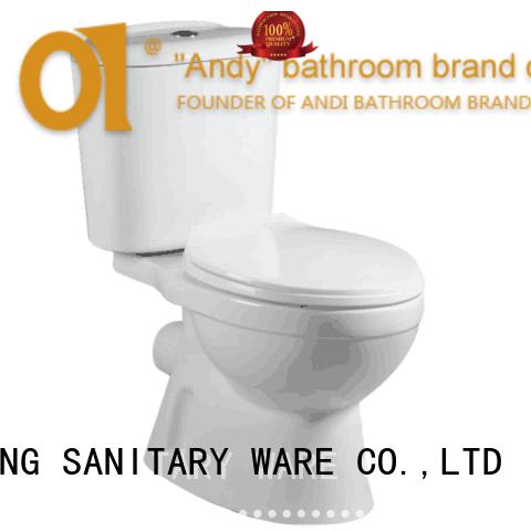 Top quality washdown two piece toilet/economic toilet/WC/toilet F-203