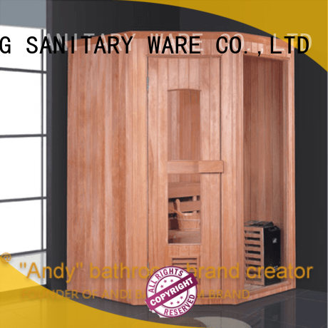 long lasting indoor sauna pine on sale for apartment