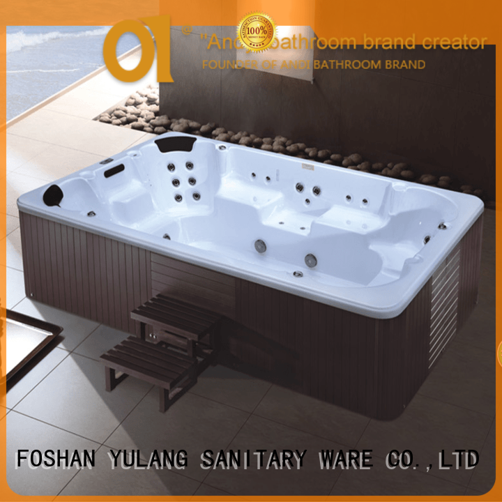 ANDI pool spa baths supplier for apartment