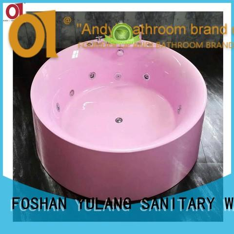 ANDI air jacuzzi freestanding tub directly sale for indoor