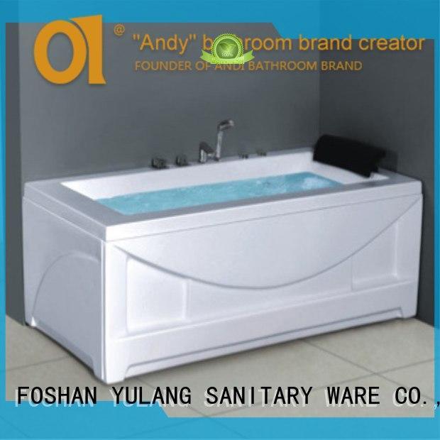 ANDI integral hydromassage hot tub wholesale for kids