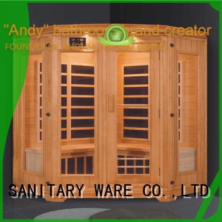 ANDI controller sauna steam room online for hotel