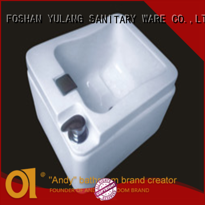 ANDI freestanding foot wash basin wholesale for apartment