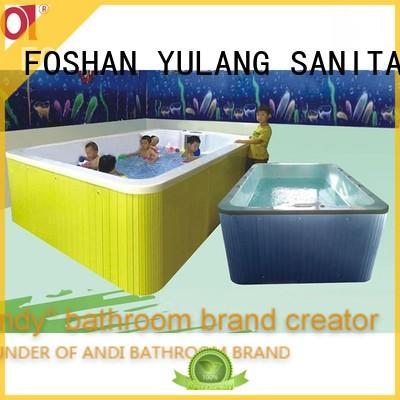 ANDI designed baby bathtub online for Villa
